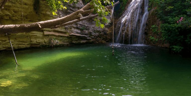Adonisz fürdője Ciprus Pafosz