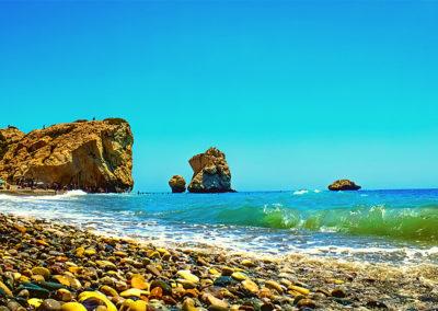 Aphrodité sziklája Páfosz Ciprus