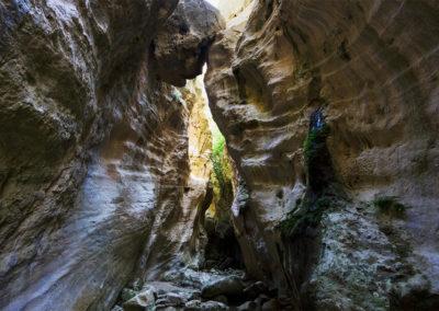 Avakas hasadék Páfosz Ciprus