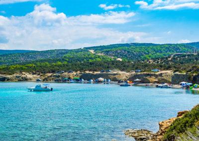 Kék Lagúna Paphos Ciprus