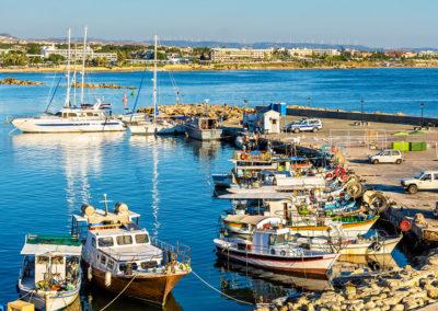 Páfoszi kikötő, Ciprus