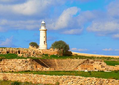 Páfoszi régészeti park Ciprus