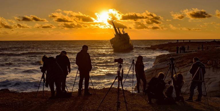 Hajóroncsok Cipruson