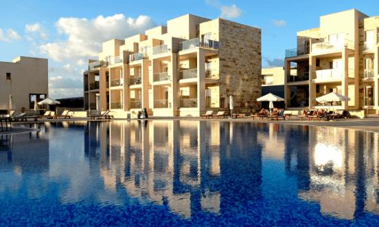 Amphora hotel Ciprus Paphos Páfosz